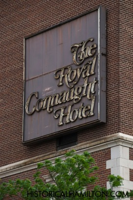The Royal Connaught Hotel Sign